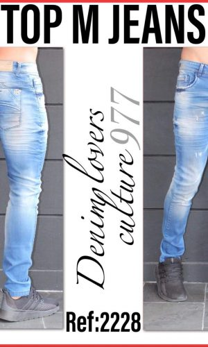 JEANS TOP M 2228