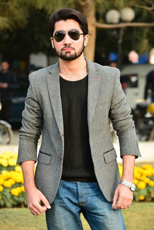 combinar jeans hombre formal